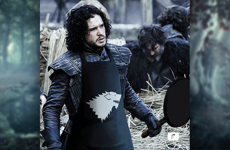 Avental da Casa Stark – Game of Thrones