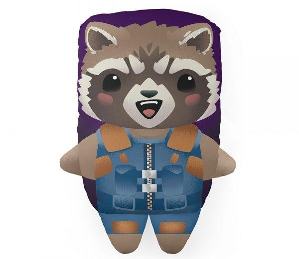 Almofada com Formato Rocket Raccoon – Marvel