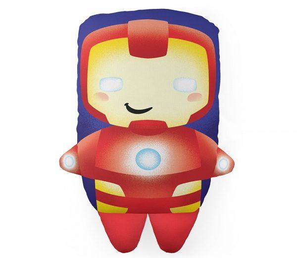 Almofada com Formato Homem de Ferro – Marvel