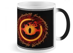 Caneca Mágica Sauron e O Anel – Senhor dos Anéis