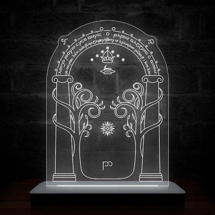 Luminária entrada das Minas de Moria – Senhor dos Anéis