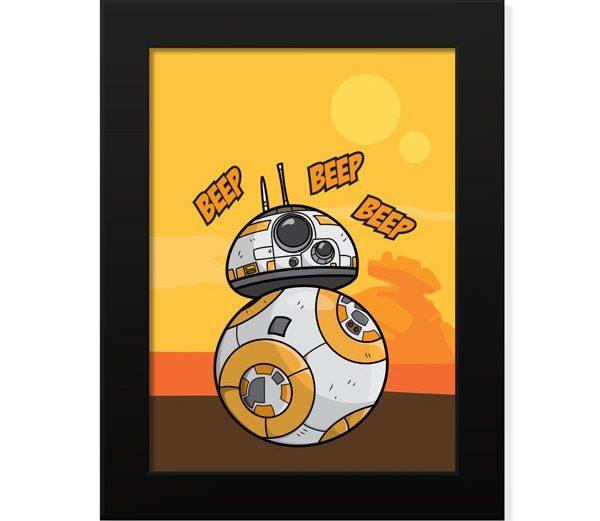 Poster BB-8 – Star Wars
