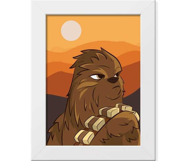 Poster Chewbacca – Star Wars