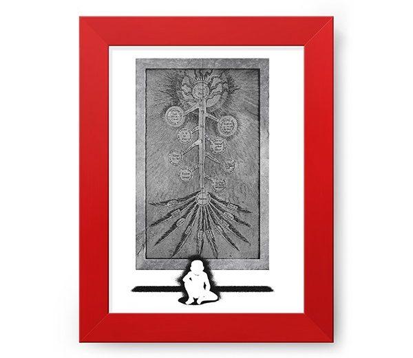Poster com Moldura Porta da Verdade – Fullmetal Alchemist