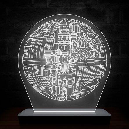 Luminária Estrela da Morte – Star Wars