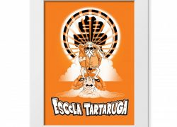 Poster Escola da Tartaruga – Dragon Ball