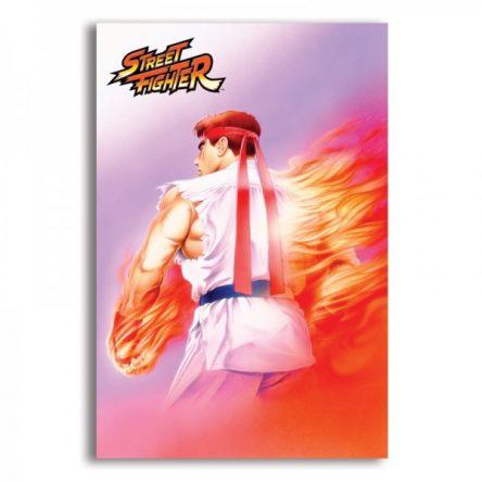 Mural Metálico Ryu – Street Fighter II